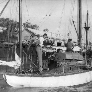 Sailor-scribes: Adrian Hayter