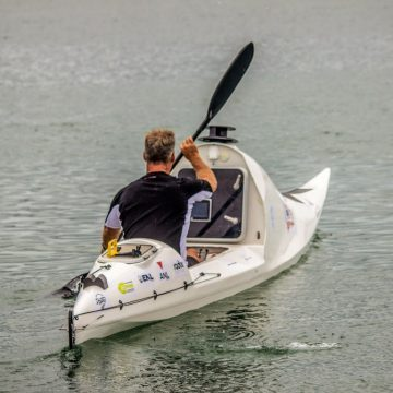 Solo Tasman rower