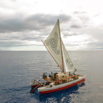Island transporter: Lloyd Stevenson vaka motu