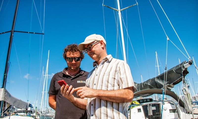 BoatSecure: messages from your boat