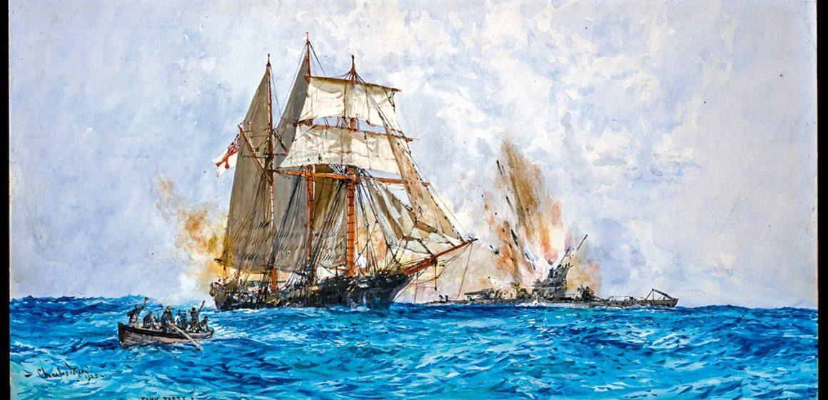 Vintage View: HMS PRIZE, new beginnings
