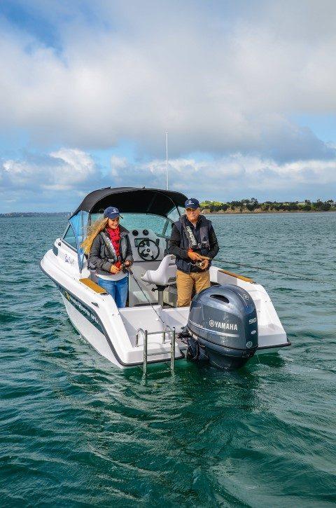 Haines Hunter SF535SB ~ Boating NZ