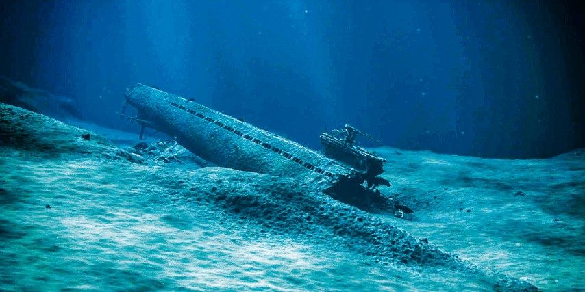 NAZI SUB TO BE ENTOMBED