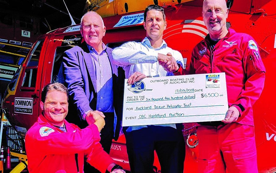 OBC GETS BEHIND RESCUE HELICOPTER
