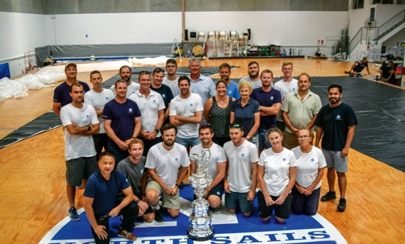 CUP VISITS NORTH SAILS