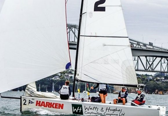 EGNOT-JOHNSON WINS MATCH RACING CUP