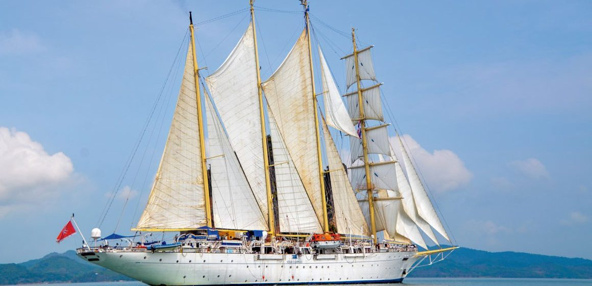 Tall ship to Singapore
