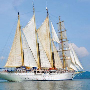 Tall ship to Singapore