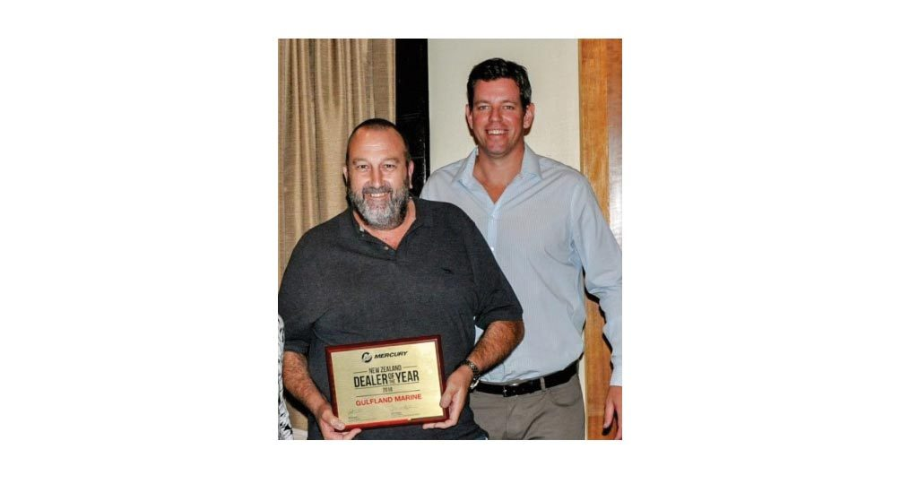 GULFLAND MARINE MERCURY DEALER OF THE YEAR