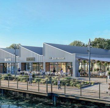 Westhaven's new marine village