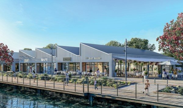 Westhaven's new marine village