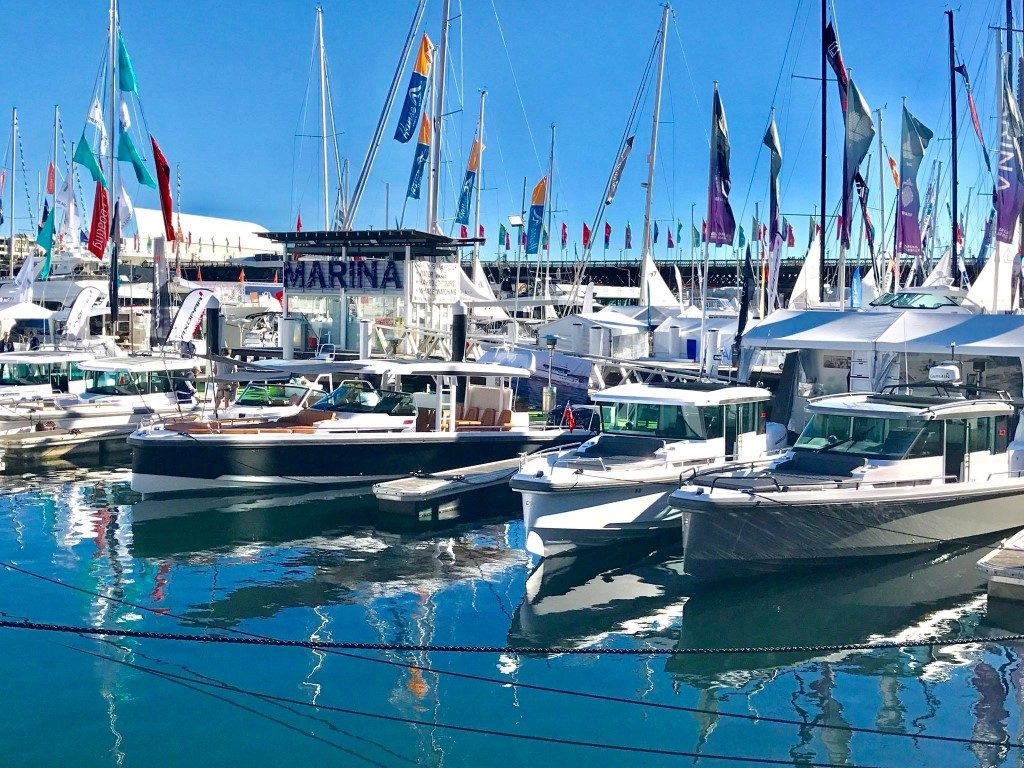 Day boats at Sydney Boat Show 2019