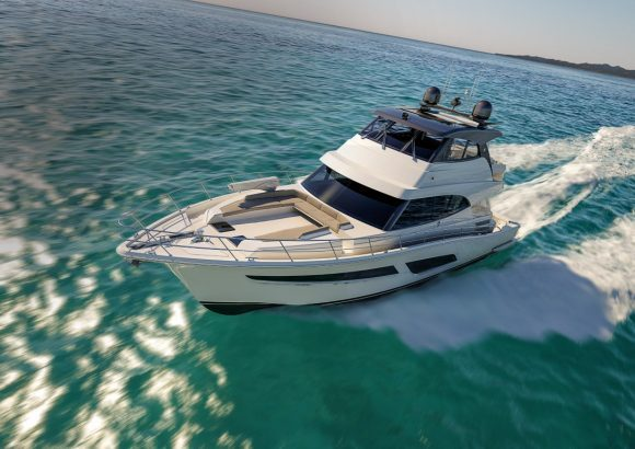 RIVIERA's NEW 64 SPORTS MOTOR YACHT
