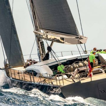WIN WIN TAKES SUPERYACHT HONOURS
