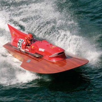 Ferrari hydroplane one of a kind