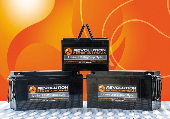 REVOLUTION POWER LITHIUM DEEP-CYCLE BATTERIES