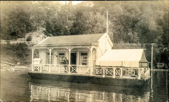 Will Foote's houseboat