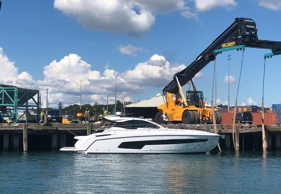 New Azimut arrives