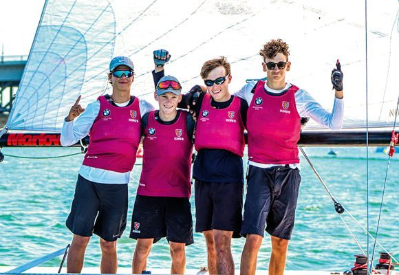 KINGS TAKES KEELBOAT CHAMPS