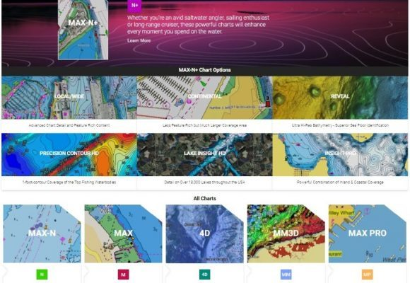 C-Map website for recreational boaters