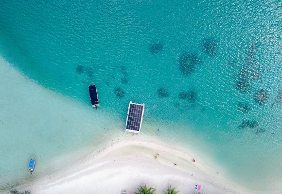 Solar electric boats set benchmark