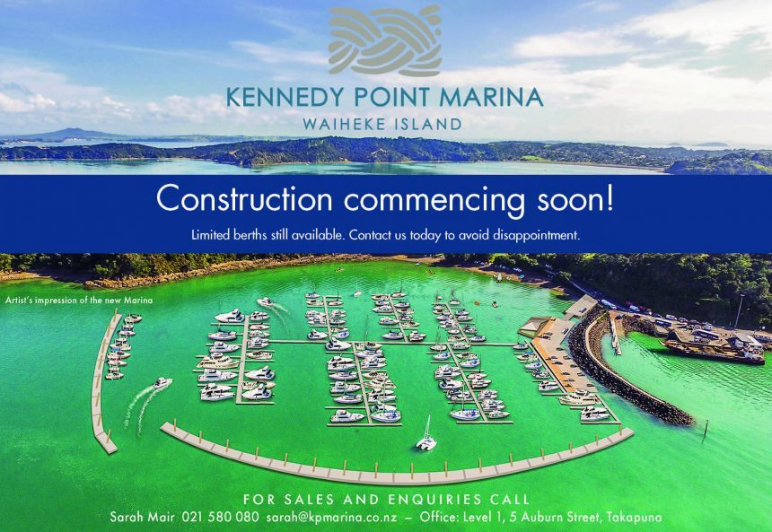 Kennedy Point marina on target