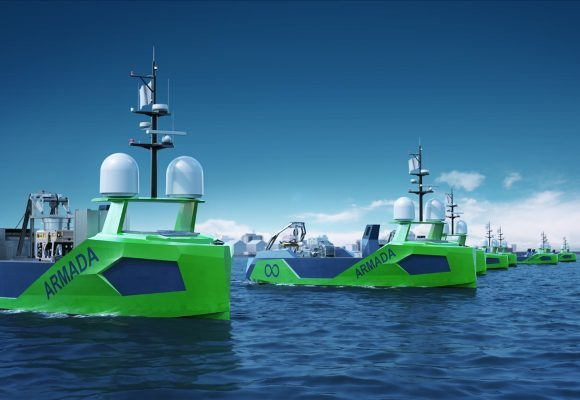Volvo Penta powers robot vessels
