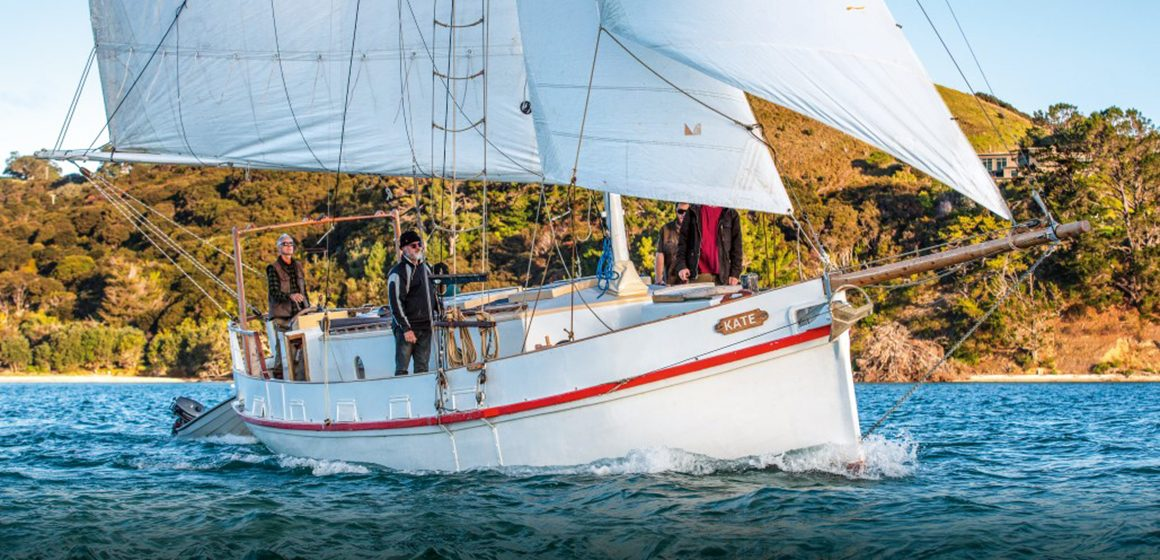 Kate sails again