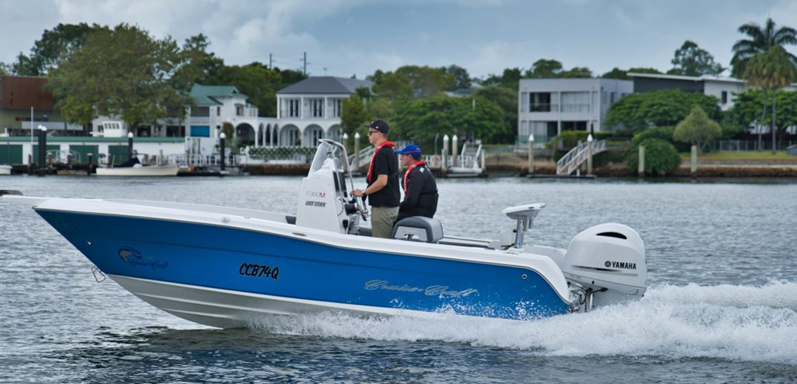Yamaha outboards in white