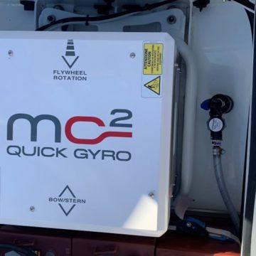 World's smallest gyro stabiliser