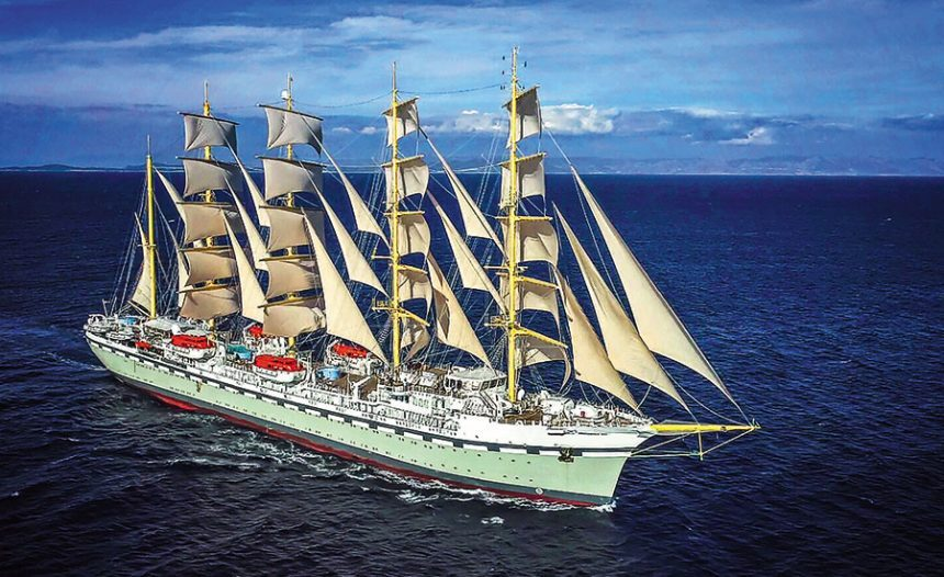 The largest square-rigger