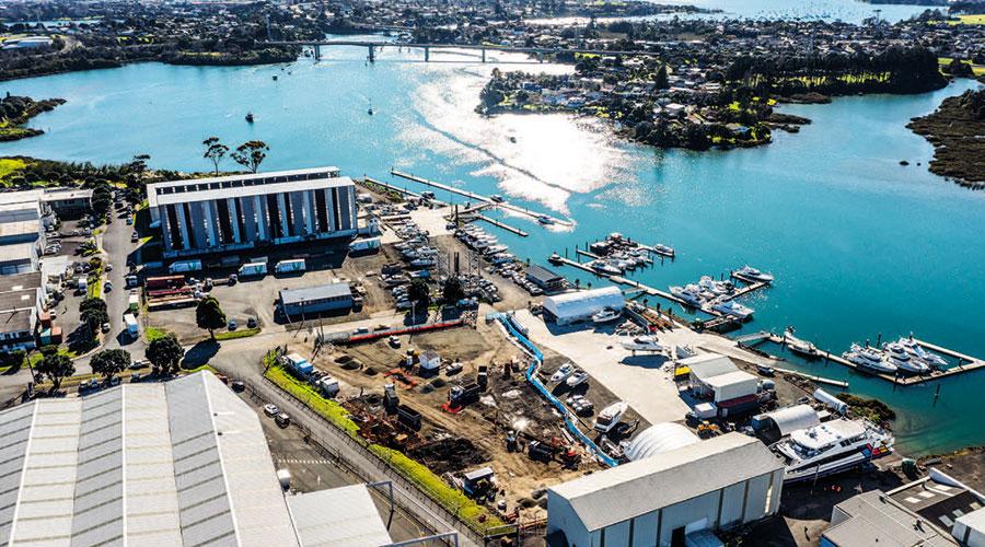 Auckland's Newest Marine Precinct