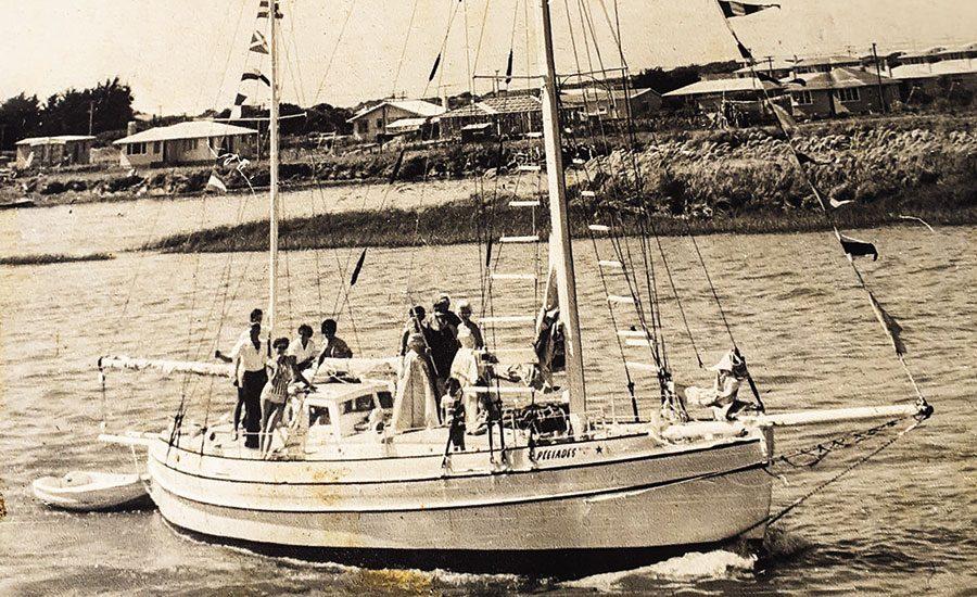 The yacht a town built – Pleiades pride